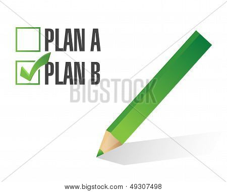 Plan B Selected Illustration Design