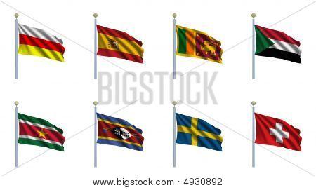 World Flag Set 22