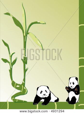 Baby Panda Stationary
