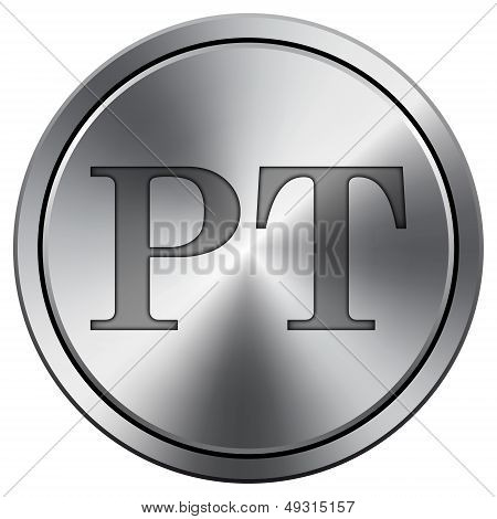 Shiny Metallic PT Icon
