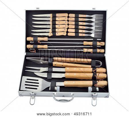 Set of BBQ