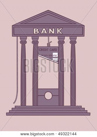 Bank guillotine.