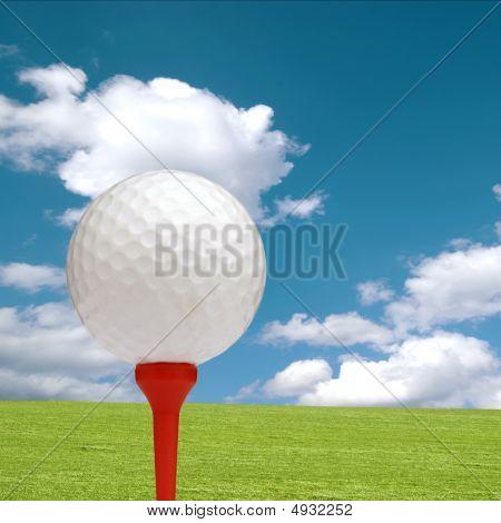 Conceito de golfe