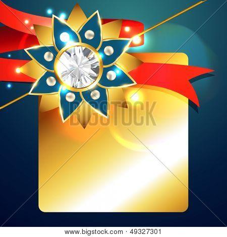 creative rakhi background design art