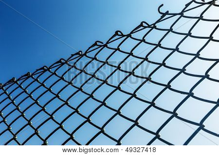 Outdoor Chain link fence