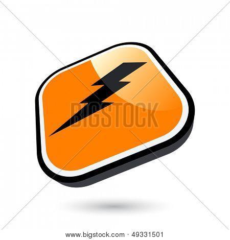 modern flash sign