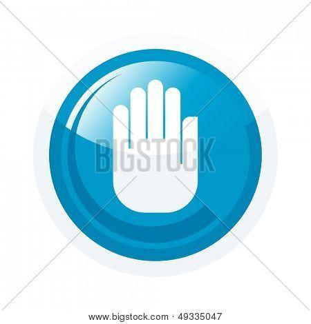 modern hand sign