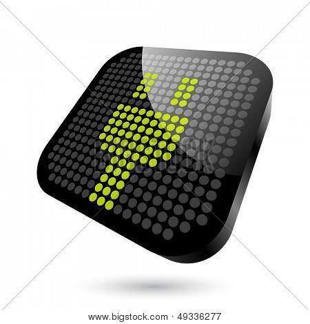 modern plug sign