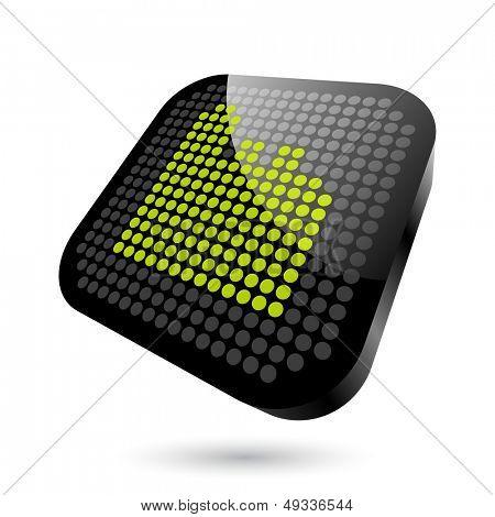efectivo moderno punto de señal