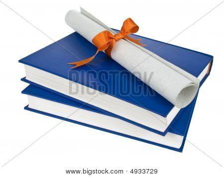 Dilploma und Bücher