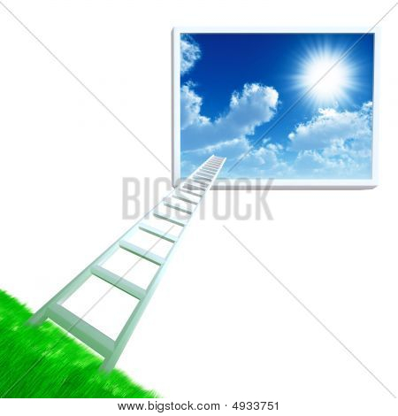 Ladder In Sky