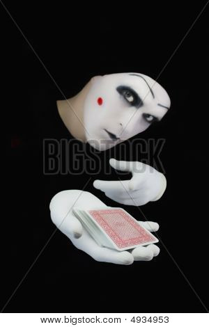 Mime With A Pack