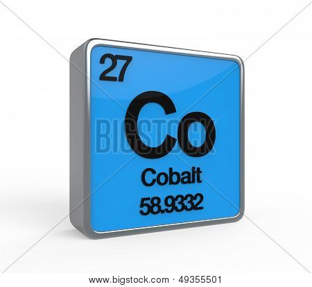 Cobalt Element Periodic Table