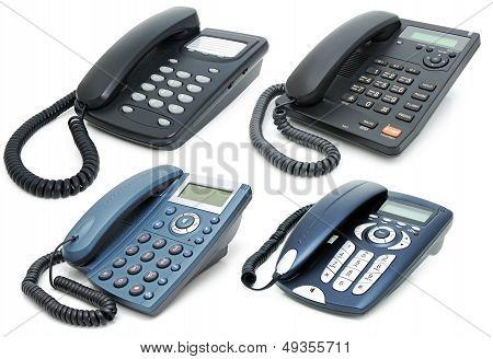 Digital Phones With Liquid-crystal Display