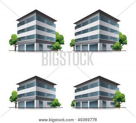 Hotel or office buildings
