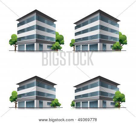 Hotel or office buildings
