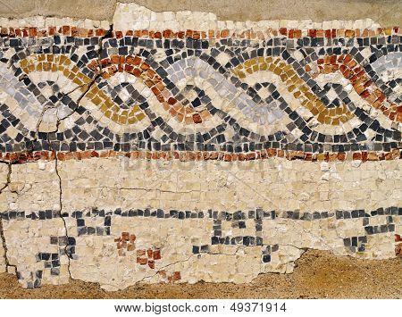 Caesarea Maritima - Mosaic