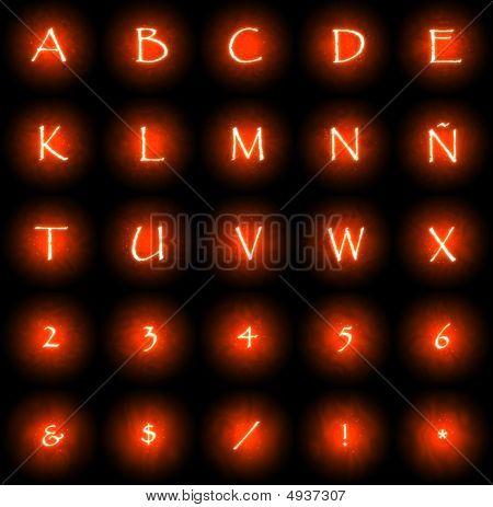 Glow Font 1