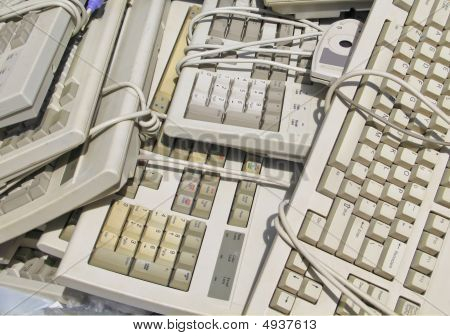 Recycle Computer Keyboards