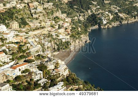 Positano In The Amalfi Coast, Italy