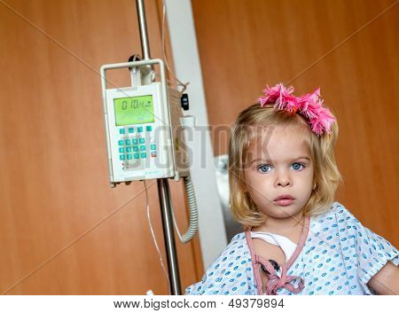 Hospitalized Girl