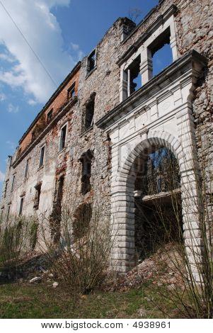 Habsburg Schlosses bleibt, Slowenien