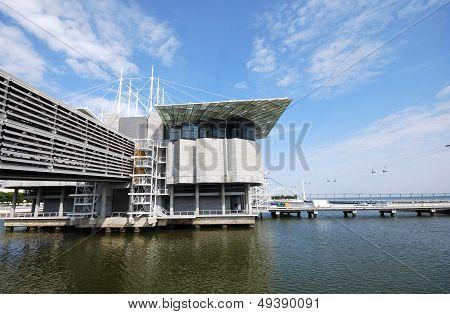 Famous Oceanarium In Lisboa(Portugal)