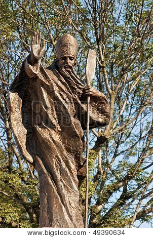 Statue Of St. Adalbert, Mikolow, Poland