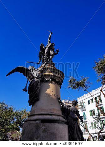 Vara De Rey Monument In Ibiza Town