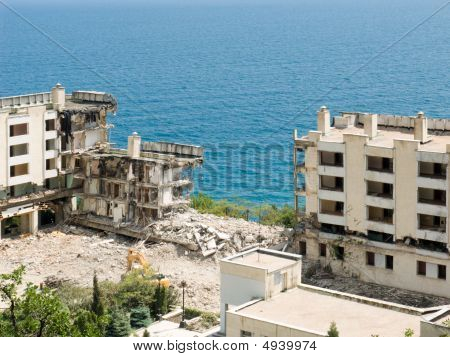 The Destroyed Buildings