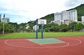 stock photo of netball  - Basketball Court - JPG