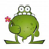 pic of ogre  - funny cartoon monster - JPG