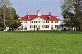 foto of martha  - a view of the main house at the Mount Vernon estate in Virginia - JPG