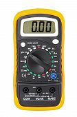 stock photo of electricity meter  - Multimeter for a measurement of voltage a current resistance - JPG