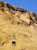 Cable Car To Masada, Israel