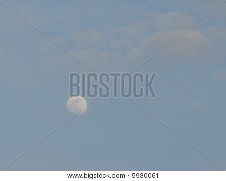 Moon During Daylight