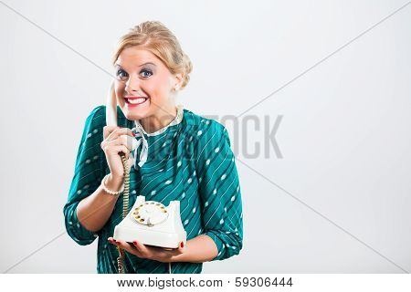 Gossip on the phone