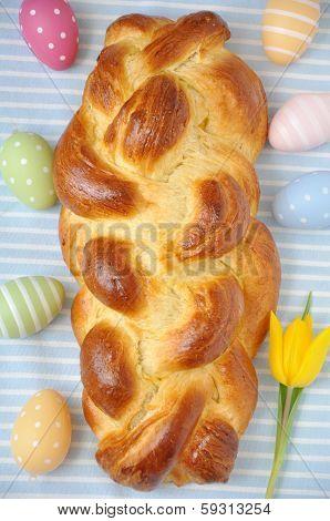 a sweet Challah bread