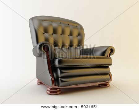 Armchair - Isolated On White