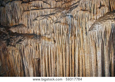 Rock formations in Emine-Bair-Khosar cave