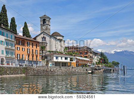 Brissago,Lago Maggiore,Ticino Canton,Switzerland