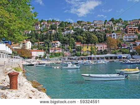 Rabac,Istria,adriatic Sea,Croatia
