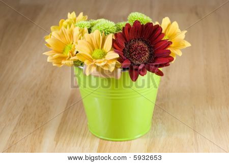 Bunch Of Colourful Flowers