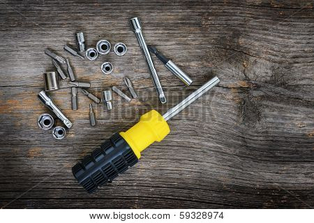 Screwdriver And Bits