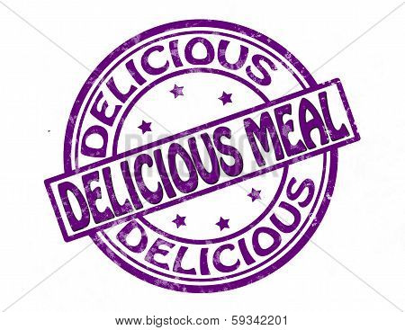 Delicious meal