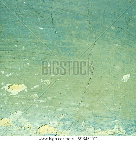 Green Exposed Concrete Wall Texture