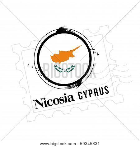 stamp Cyprus