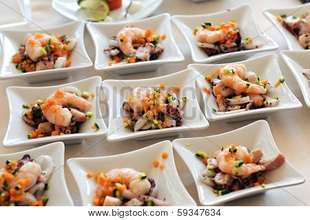 Individual Seafood Starters