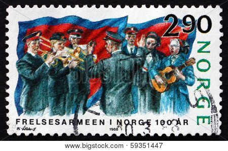 Postage Stamp Norway 1988 Salvation Army In Norway