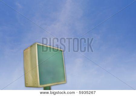 Neon Straßenschild